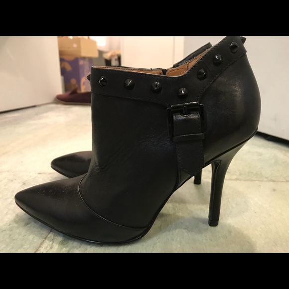Enzo Angiolini Shoes - Enzo Angiolini Presley Studded leather ankle boot 4ffc9d3d6